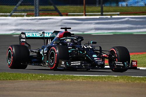 70. Yıl Dönümü GP 2. antrenman: Hamilton ve Mercedes lider, Vettel yolda kaldı!