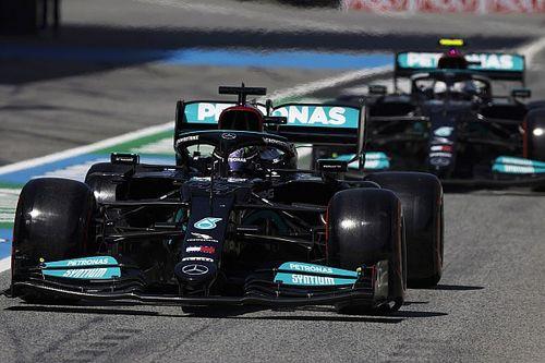 Mercedes explique son choix des pneus tendres au départ