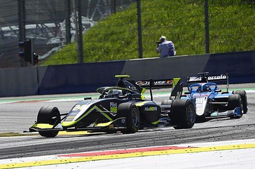 Austria F3: Injury forces Kaylen Frederick to withdraw