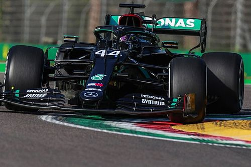 Emilia Romagna GP: Hamilton leads Verstappen in practice