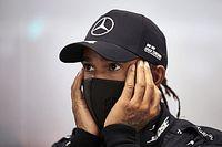 "Hamilton ve persecución contra Mercedes: ""Luchamos cuesta arriba"""