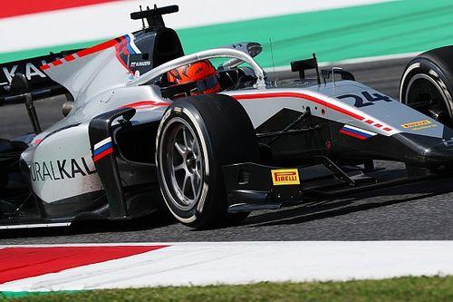 Мазепин выиграл сумасшедшую гонку Формулы 2, Шварцман сошел, Шумахер – новый лидер серии