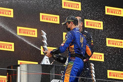 """マクラーレンF1代表、ノリスの""""速さ""""をベタ褒め「表彰台は当然の結果だ」"""