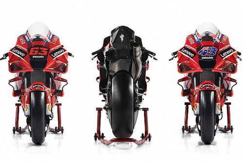 Ducati Desmosedici GP21: la scheda tecnica