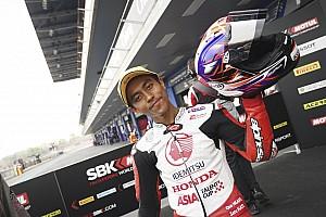 Afridza Munandar sedikit kecewa finis ketiga