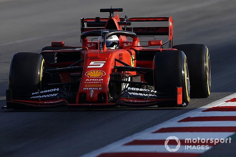 F1合同テスト後半最終日:レッドブルにトラブル発生! フェラーリ1番時計もメルセデス肉薄