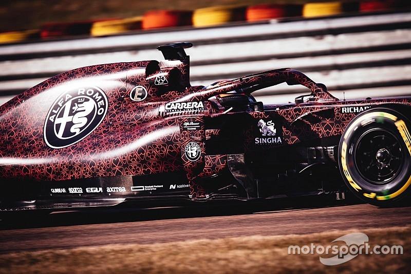 Räikkönen 32 kört teljesített az Alfa Romeóval: képgaléria Fioranóból