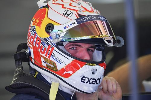 "Verstappen has new helmet supplier despite RB15's Arai ""basis"""