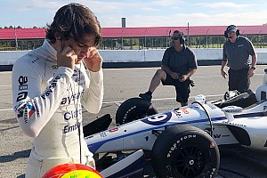 IndyCar Breaking news Fittipaldi aims for Mid-Ohio top 10 after comeback test