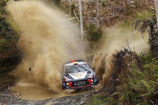 WRC Resumen de la fase Hyundai domina el Rally de Australia tras el primer día