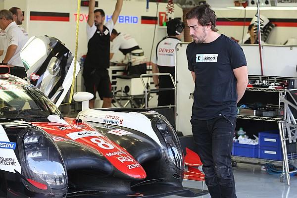 Alonso e Fittipaldi testam carros da LMP1 no Bahrein