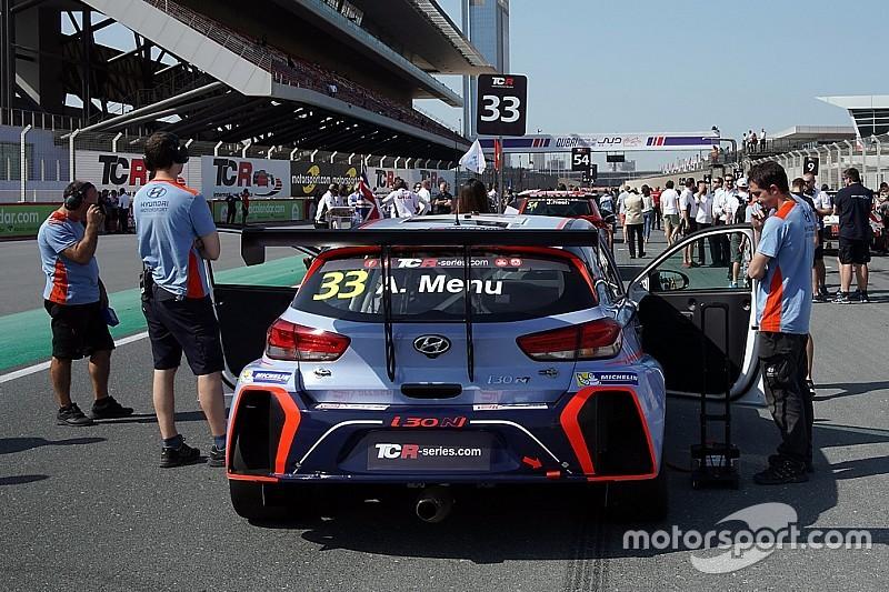 Wilkins e Lewis con le Hyundai della Bryan Herta Autosport in Classe TCR