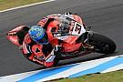 WSBK Melandri y Ducati doblegan a las Kawasaki oficiales en Australia