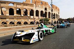 Formula E Son dakika Roma'daki Formula E pistinin tanıtımı yapıldı