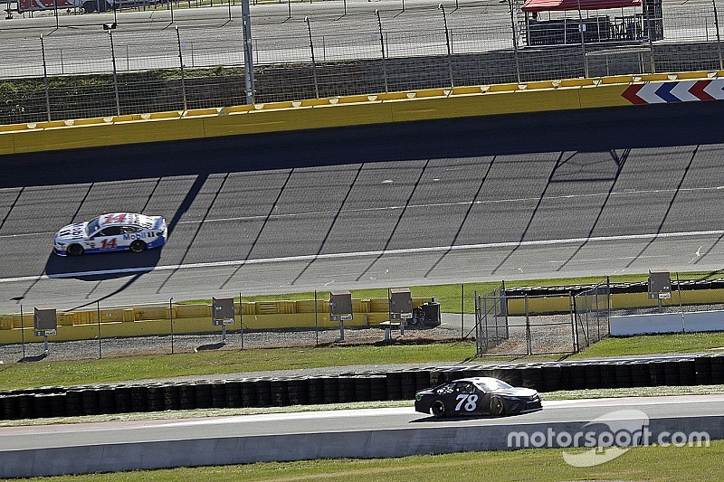 "Truex on Charlotte Roval test: ""All kinds of craziness going on"""