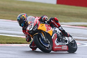 World Superbike Breaking news Injured Camier unsure if he'll race at Donington