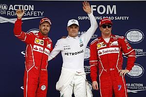 F1 Reporte de calificación La parrilla de salida del GP de Brasil