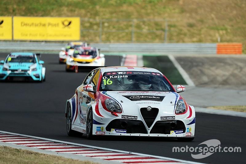 Difficult round for Romeo Ferraris in Budapest