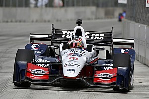 IndyCar Rennbericht IndyCar-Double-Header in Detroit: Graham Rahal siegt auch in Rennen 2