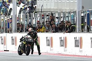 MotoGP Новость Мэнселл-стайл: Зарко дотолкал байк до финиша вручную