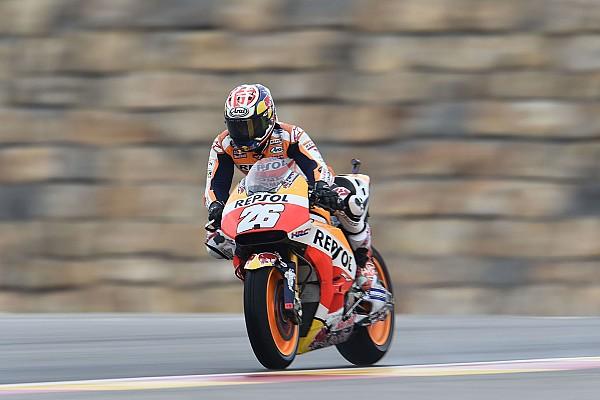 MotoGP Practice report Aragon MotoGP: Pedrosa beats Lorenzo to top FP2