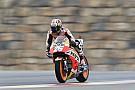 Pedrosa terminó adelante y Rossi se tomó el día con calma