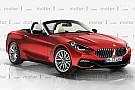 ¿Será así el BMW Z4 2018?