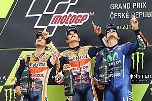 MotoGP Результати Турнірна таблиця MotoGP після Гран Прі Чехії