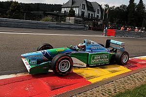 F1 Top List Galería: El casco que uso Mick Schumacher con el Benetton B194