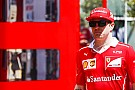 Formula 1 Raikkonen ironico: