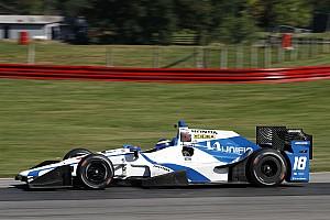 IndyCar Новость Бурдэ впервые сел за руль машины IndyCar после аварии