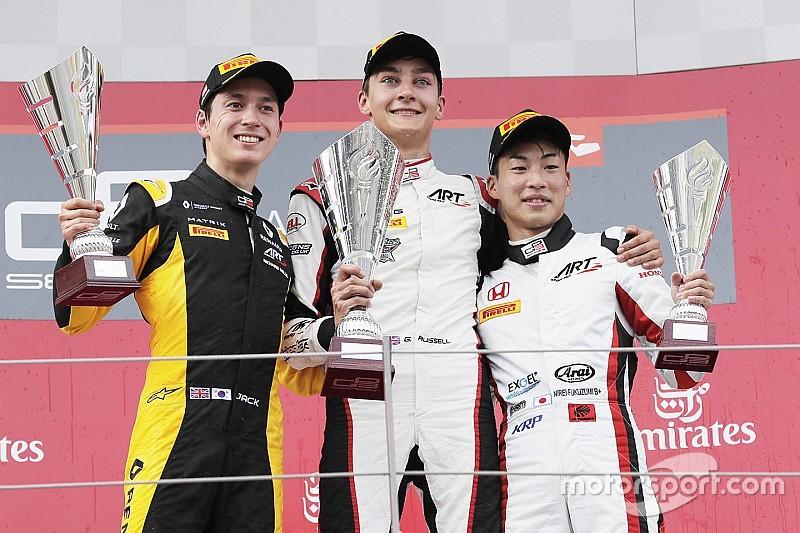 Primera victoria de Russell en la GP3 Series