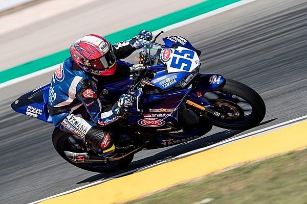 World Superbike Qualifying report WorldSSP300 Portugal: Galang Hendra tempati start ke-10