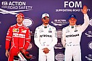 La parrilla de salida del GP de España