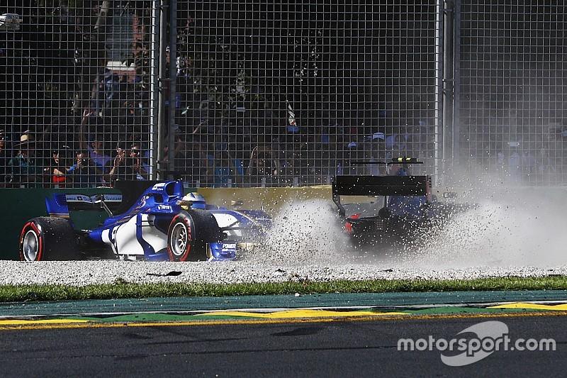 【F1】ザウバー、接触のマグヌッセンを非難「彼は罰せられるべき」