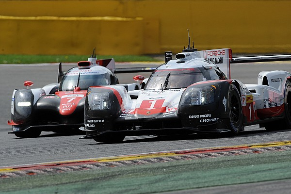 WEC Breaking news WEC plug-in hybrid rule no gimmick, say Porsche and Toyota