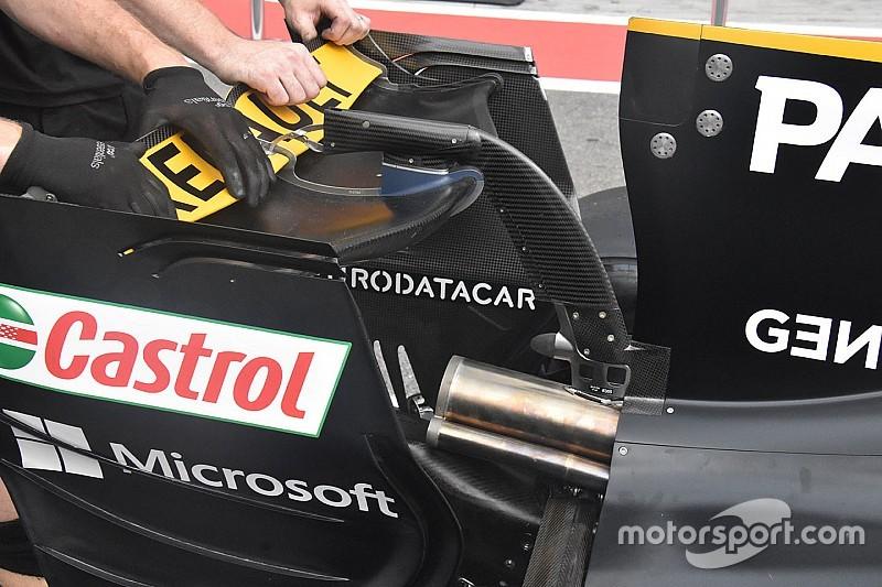 Hogy mire hasonlít a Renault hátsó szárnyprofilja? Egy banánra!