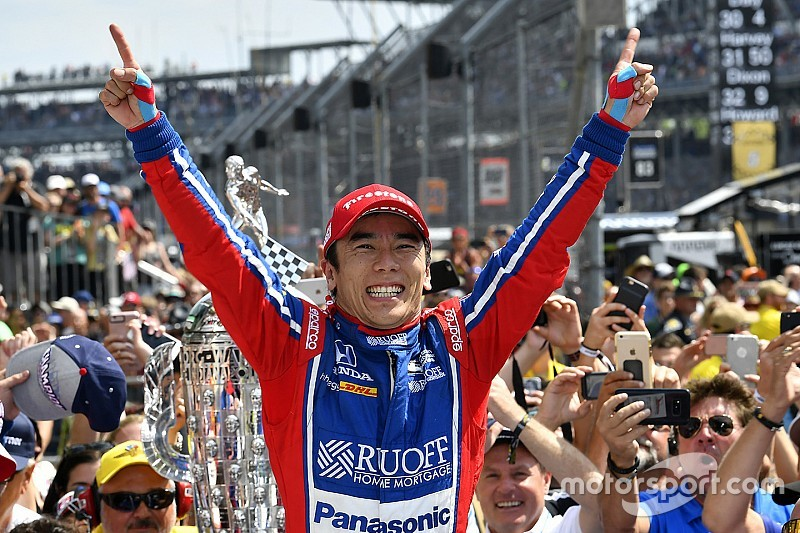 Такума Сато победил в Indy 500, Алонсо подвела Honda