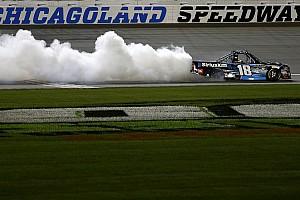NASCAR Truck Breaking news Kyle Busch's winning truck fails post-race inspection