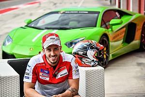 GT Actualités Dovizioso passe de Ducati à Lamborghini pour le Super Trofeo