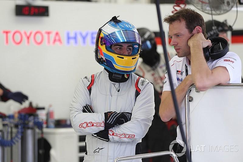 "Alonso: ""El Toyota acelera como un cohete"""