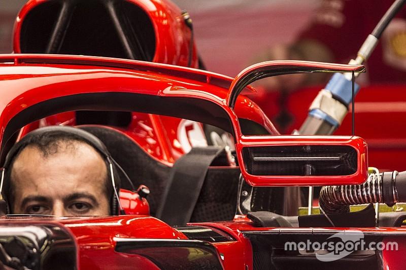 Bildergalerie: Der neue Halo-Rückspiegel von Ferrari