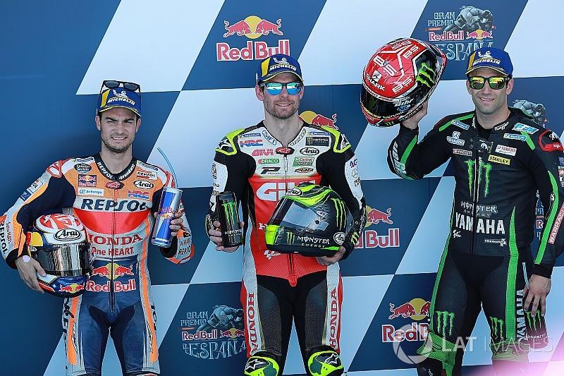 Vídeo: la parrilla de salida del GP de España de MotoGP