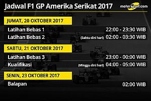 Formula 1 Preview Jadwal lengkap F1 GP Amerika Serikat 2017