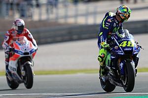 MotoGP Actualités Pour Rossi, l'histoire de Dovizioso doit être une leçon pour tous