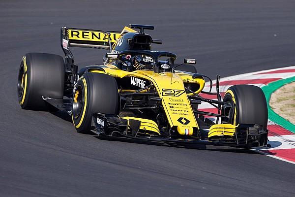 F1 速報ニュース ルノー「画像で発表したマシンは真の2018年車ではない」と示唆