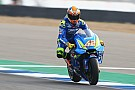 MotoGP Suzuki sürücüleri son versiyon kaplama kanatçığından memnun