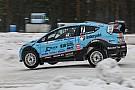 """World Rallycross Newgarden sobre correr en la nieve: """"¡como nunca había competido antes!"""""""