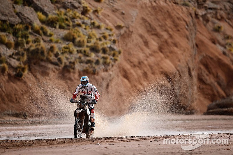 Dakar 2018, Stage 10: Santosh inside top-40 despite crash
