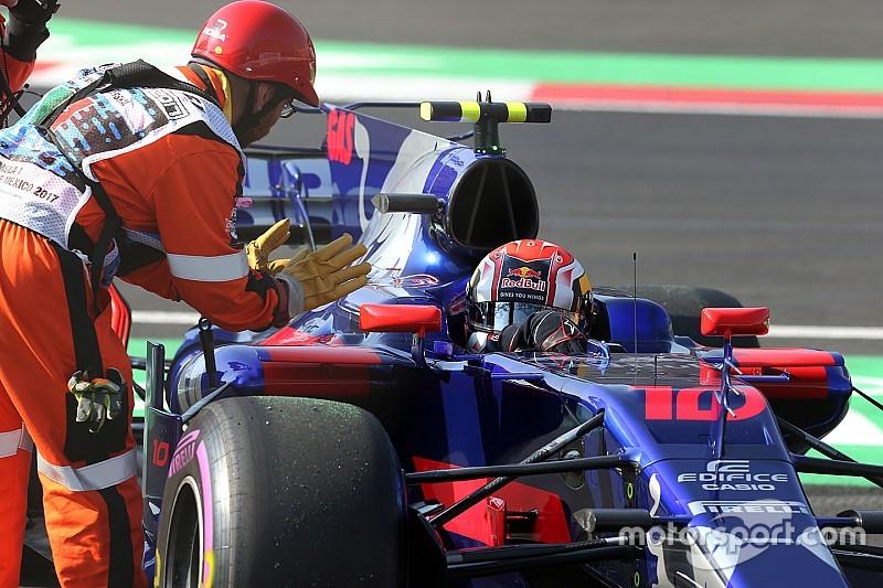 Штраф Гаслі на старті Гран Прі Мексики виріс до 15 позицій